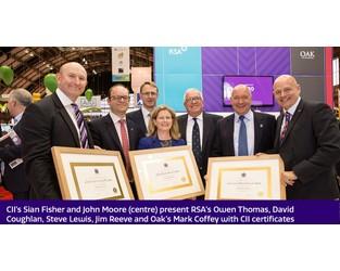 RSA achieves Chartered Insurer status