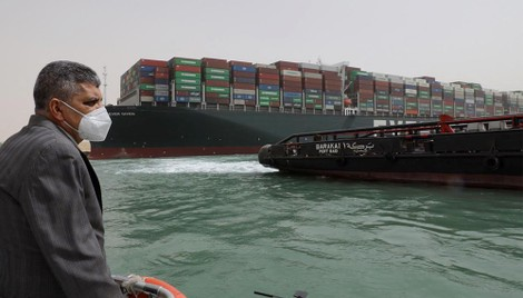 Huge Ship That Blocked Suez Canal Will Be Held Until Compensation Deal Is Reached