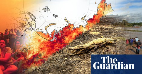 Floods, storms and searing heat: 2020 in extreme weather - The Guardian