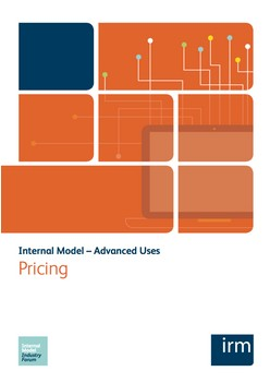 Internal Model – Advanced Uses: Pricing