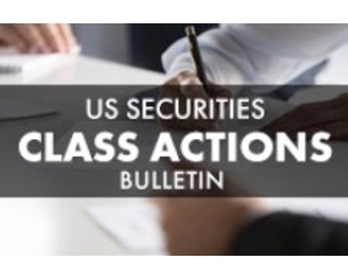 US Securities Class Actions Bulletin - FY 2018