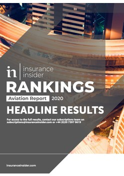 Insurance Insider Aviation Rankings Report 2020