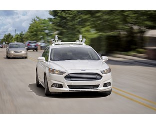 Ford's driverless car to hit the road