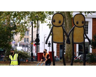 Prints by street artist Stik meant as gift to Londoners have been stolen in transit - The National
