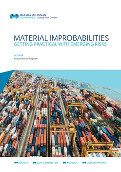 Material Improbabilities: Getting Practical With Emerging Risks