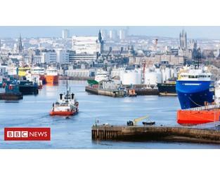 Covid in Scotland: Oil and gas sector in economic turmoil, says report - BBC