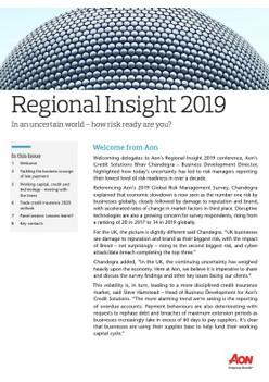 Regional Insight 2019