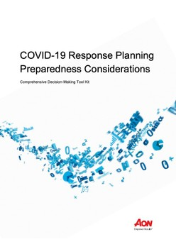 COVID-19 Response Planning Preparedness Considerations