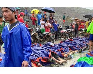 Landslide at Myanmar jade mine kills at least 123 people - AP