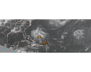 First tropical cyclone of the 2019 Atlantic hurricane season developing SW of Bermuda - The Watchers