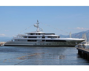 Codecasa 65m flagship motor yacht Regina d'Italia launched - Superyacht Times