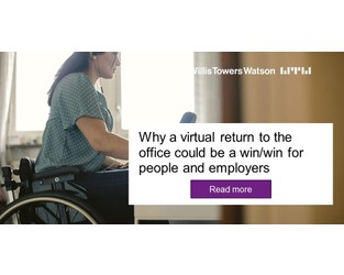 Why a virtual return to the office could be a win/win for people and employers