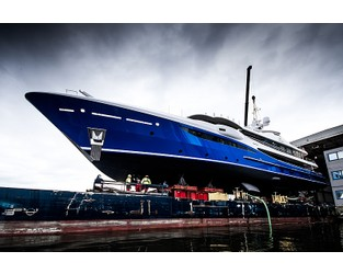55m Amels superyacht Nomad launched in Vlissingen - Superyacht Times