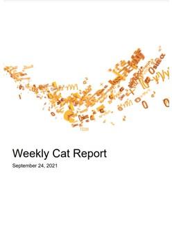 Weekly Cat Report - September 24, 2021