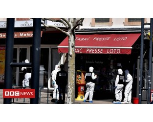 France launches terror probe after knife attack - BBC