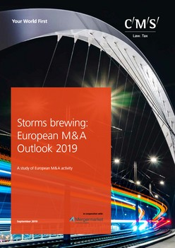 Storms brewing: European M&A Outlook 2019