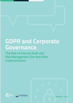 GDPR and Corporate Governance