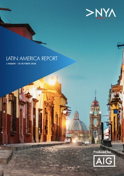 NYA Latin America Report: August - October 2018
