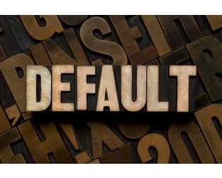 Insurance broker declared in default