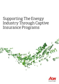 Supporting The Energy Industry Through Captive Insurance Programs