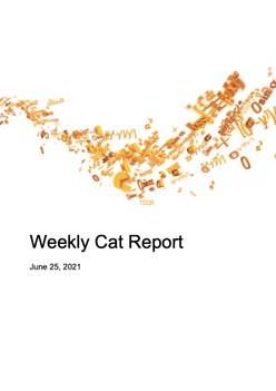 Weekly Cat Report - June 25, 2021