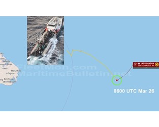 Tanker broke in two, sank or sinking, Mediterranean - FleetMon
