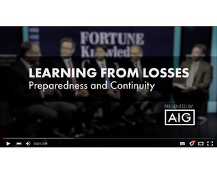 Preparedness & Continuity