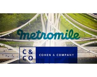 Auto insurtech Metromile to go public through combination with Cohen & Co SPAC
