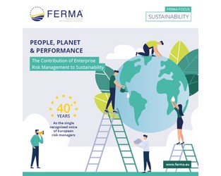 Webcast: FERMA released the first guide specifically for European risk managers on sustainability risks