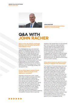 Q&A with John Racher