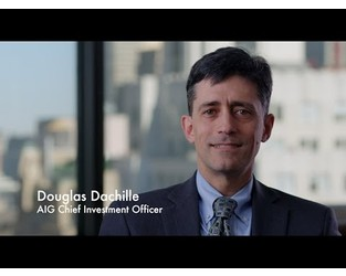 Douglas Dachille, Chief Investment Officer, AIG