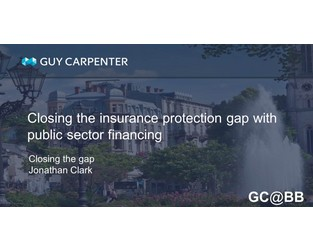 Closing The Gap: Public Sector Risk Financing Solutions Increase Community Resiliency - GC@BB Commentary