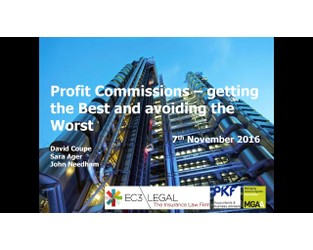 Profit Commission - getting the best and avoiding the worst