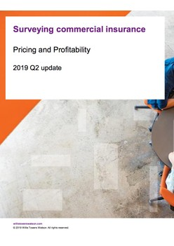 Commercial Lines Insurance Pricing Survey Q2 2019