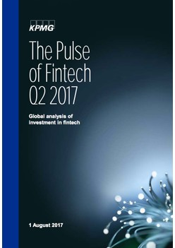 The Pulse of Fintech – Q2 2017