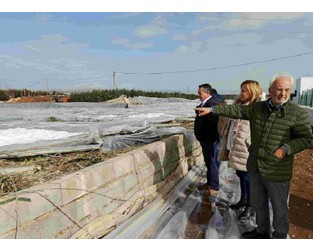 Totting up damage to agriculture and infrastructure in Storm Gloria hit areas of Costa Almeria - Euro Weekly News