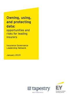 Owning, using, and protecting data: opportunities and risks for leading insurers