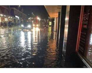 Town hit by flooding - Kent Online