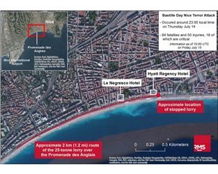 Terror attack in Nice kills at least 84