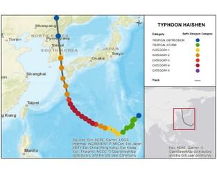 CAT-i Bulletin: Typhoon Haishen