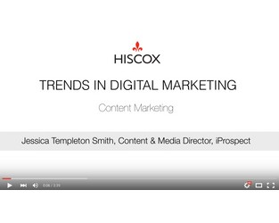 Digital trends with iProspect - Content Marketing