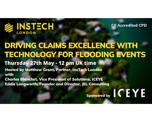 Webcast: Driving Claims Excellence with Technology for Flooding Events