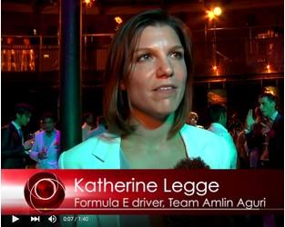 "ELN - ""I was born ready"" revs Formula E  Team Amlin Aguri racer Katherine Legge"