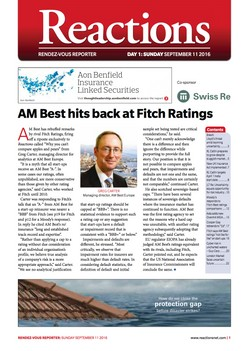 AM Best hits back at Fitch Ratings