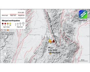 M 5.1 quake in NE Columbia - Temblor