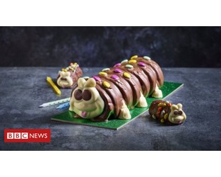 M&S begins legal action against Aldi over Colin the Caterpillar cake - BBC