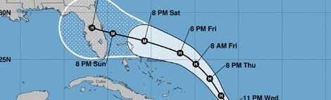 Hurricane Dorian stronger. Forecasters talk double-landfall, analysts $10bn to $30bn