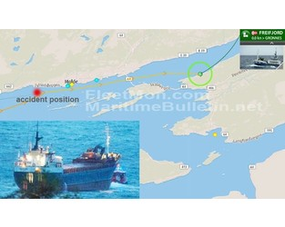 Disabled cargo ship drifted dangerously close to shore, Norway - FleetMon