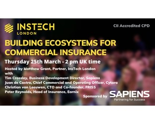 Webcast: Building Ecosystems for Commercial Insurance