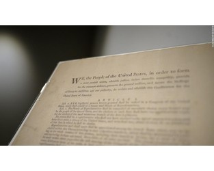 Rare first-edition copy of US Constitution could fetch $20 million - CNN